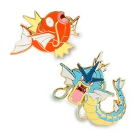Magikarp and Gyarados Pokémon Pins (Evo 2 Pack)