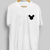 Mickey Mouse Head Women's Casual T-Shirt