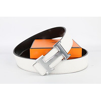 Hermes belt men's and women's casual casual style H letter fashion belt581