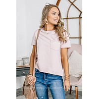 Stay Extra Short Sleeve Pocket Top