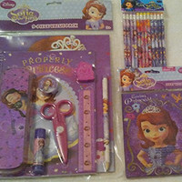 Sofia the First 9 Piece School Supply Value Pack 12 Pencils and Loving Princess Journal