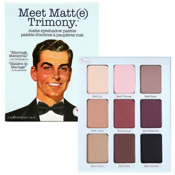 Thebalm Meet Matt(e) Trimony Eyeshadow