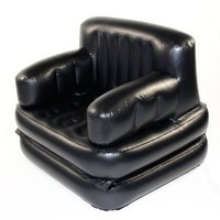 Inflatable Convertible Camping Air Bed/Chair/Lounge/Recliner