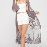 'Heavenly Hues' Lace Cardigan