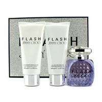 Flash Coffret: Eau De Parfum Spray 100ml/3.3oz + Body Lotion 100ml/3.3oz + Shower Gel 100ml/3.3oz 3pcs