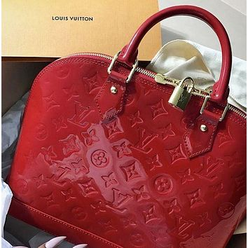 LV Louis Vuitton Fashion Hot Sale Lady Print Letter Embossed Shell Bag Shoulder Bag Messenger Bag