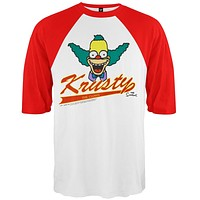 Simpsons - Krusty 3/4 Sleeve