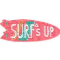 Surf's Up Iron On Patch