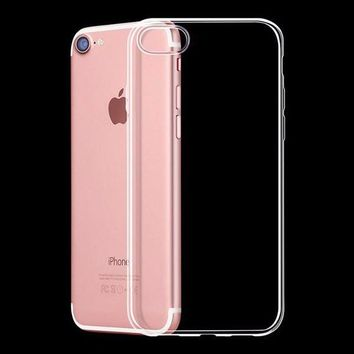 For iPhone 7 Cases Ultra Thin  Soft TPU Transparent  Back Case  4.7 Inch