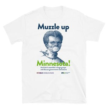 Muzzle Up Minnesota Short-Sleeve Unisex T-Shirt