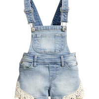 Bib Overall Shorts - from H&M