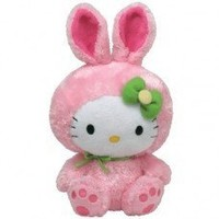 Ty Beanie Buddies Hello Kitty Pink Bunny (Large)