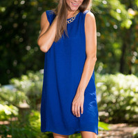 Happiness Is The Pure Dress, Royal Blue