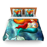 "Mandie Manzano ""I Remember Love"" Mermaid Lightweight Duvet Cover"