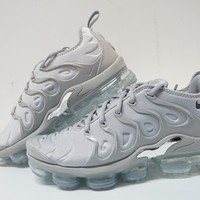 QIYIF Nike Air VaporMax Plus Grey-Metallic' Mens