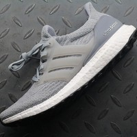 hcxx Adidas Ultra Boost UB 3 BB6059 Women Men Fashion Trending Running Sports Shoes Sneakers Grey