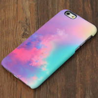 Pastel Colorful Cloud iPhone 6s Case/Plus/5S/5C/5/4S Protective Case #707