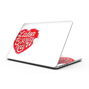 Listen To Your Heart - MacBook Pro with Retina Display Full-Coverage Skin Kit
