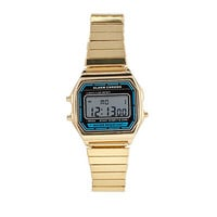 FOREVER 21 Water Resistant Digital Watch Gold One
