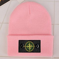 Perfect Stone Island  Fashion Edgy  Winter Beanies Knit Hat Cap