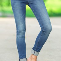 The Best Fit Medium Wash Skinny Jeans