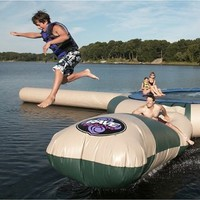 Rave Sports Aqua Launch Northwood's Aqua Attachment, Green and Tan