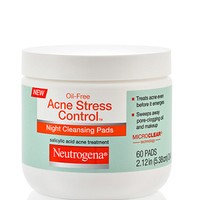 Oil-Free Acne Stress Control® Night Cleansing Pads | NEUTROGENA®