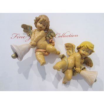 Depose Italy Putti Ornaments Simonetti Fontani Copyrighted Numbered