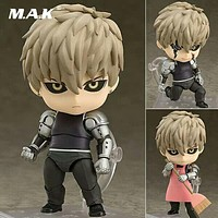 10CM One Punch Man Genos Nendoroid Action Figure 645# Genos Doll PVC Toy Brinquedos Anime figure Super Movable Edition