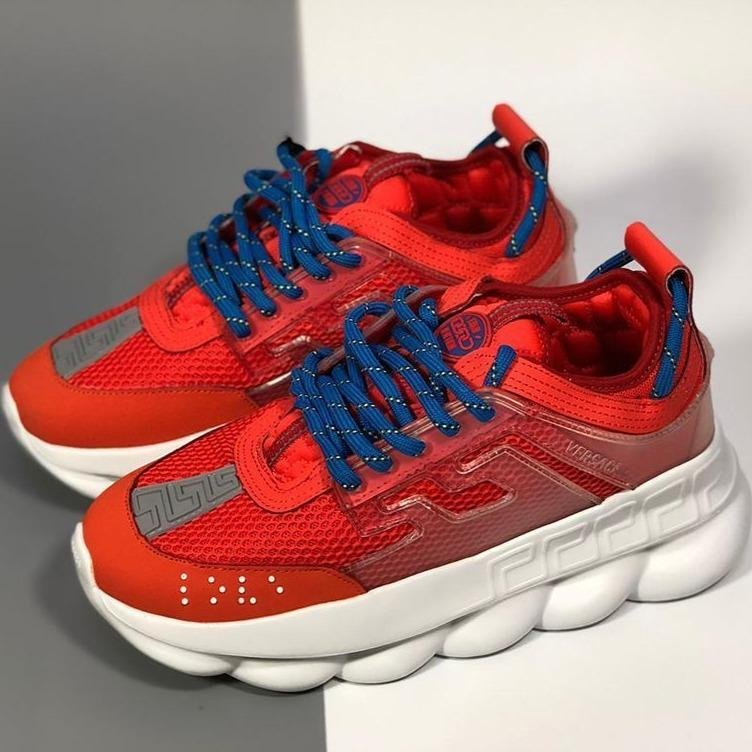 Image of Versace Woman Men Fashion Sneakers Sport Shoes