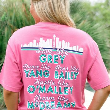Jadelynn Brooke You Are My Person (Pink) -Grey's Anatomy