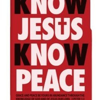 Cell Phone Case - iPhone 5 - Know Jesus - Red