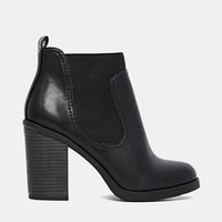 New Look | New Look Emile Block Heel Ankle Boots at ASOS