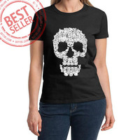 skulls Tshirt Men And Women