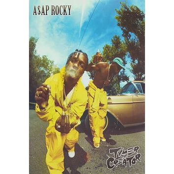ASAP Rocky & Tyler the Creator Poster 24x36