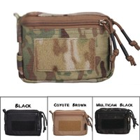 Hunting Pouches Tactical Plug-in Debris Waist Bag Hunting Tool Pouch Molle Military Combat Gear Multicam Black Free Shipping