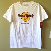 🌴🎸SALE! Honolulu Hard Rock Cafe Hawaii T-Shirt
