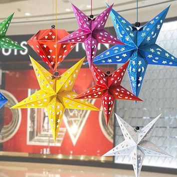 Xmas Star Hanging Ornament