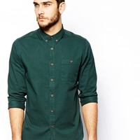 ASOS Twill Shirt In Long Sleeve