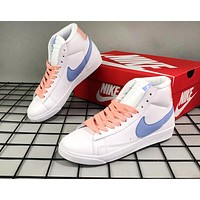 Nike Blazer Low Le hot seller of casual casual shoes in fashionable neutral matching colors with big hooks