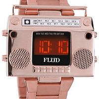 Flud Watches Watch Boombox in Rose Gold