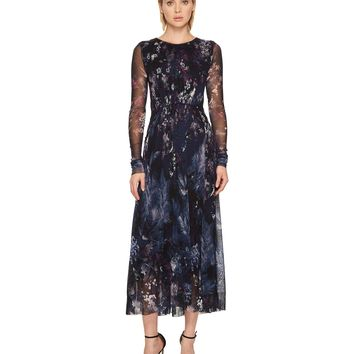 FUZZI Wings Of A Bird Maxi Dress