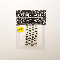 EXTRA EYES rub-on nail decals - sample size