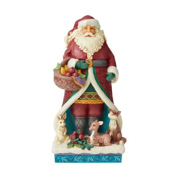 Jim Shore HWC Wonderland Santa With Animals – 6004189