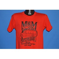80s M&M Custom Vans Accessories Red t-shirt Small