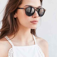 Moon Shade Plastic Aviator Sunglasses