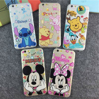 Choose your favorite famous hot Disney character for your iphone 6 case that includes Stitch,Winnie The Pooh,Donald The Duck,Minnie or Mickey Mouse. Limited time for free shipping. Hurry now!