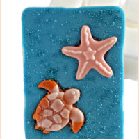Scented Wax Melts- Clamshell-BEACH BABIES Design