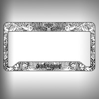 Tatoo Custom Licence Plate Frame Holder Personalized Car Accessories