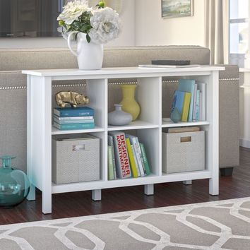 Broadview Collection White 6-cube Bookcase | Overstock.com Shopping - The Best Deals on Book & Display Cases